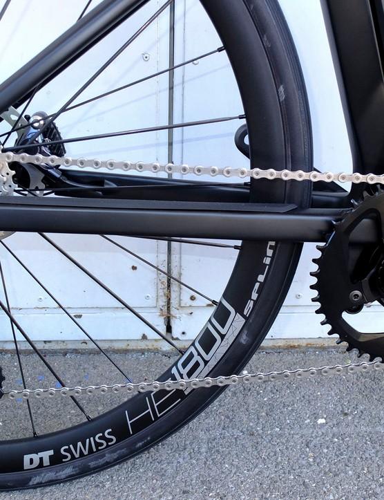 Ultegra Di2 drivetrain on road e-bike