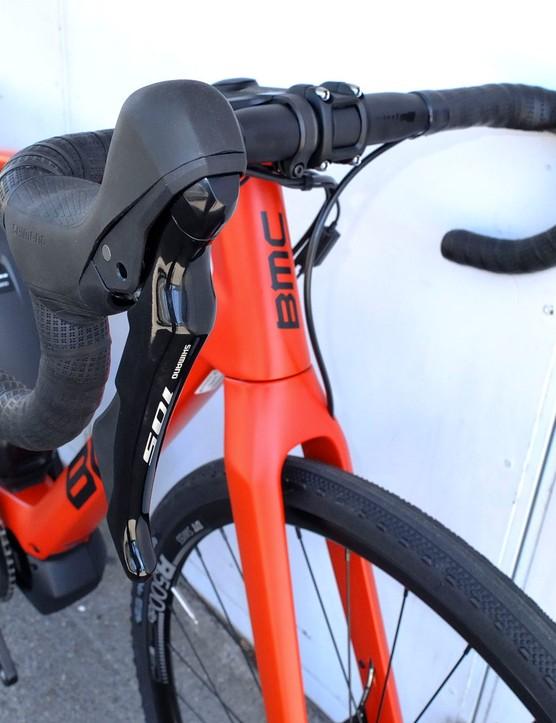 hydraulic shifters on road e-bike