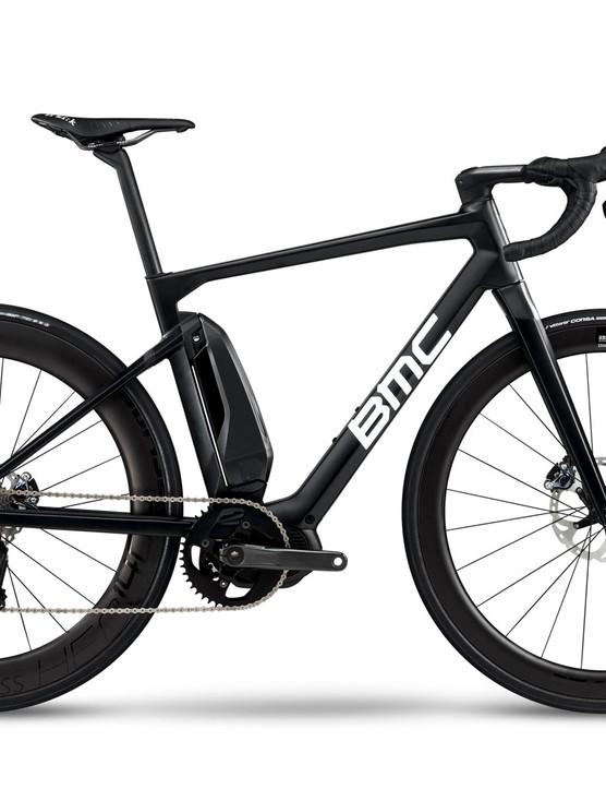 black road e-bike