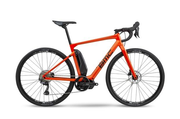Red road e-bike