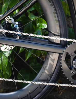cassette and chain ring on Road e-bike