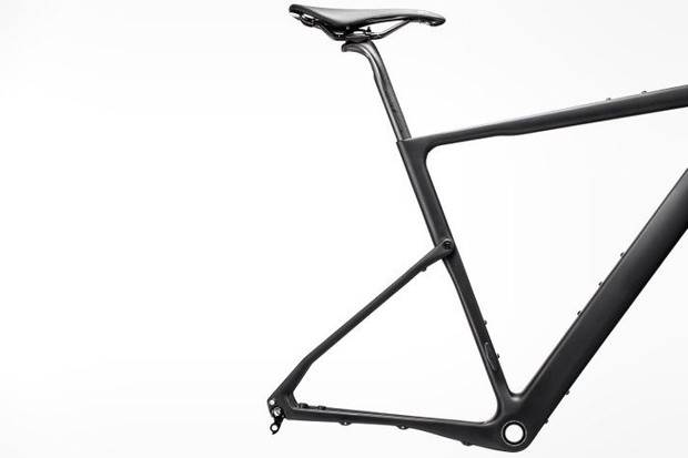 Cannondale Topstone Carbon kingpin suspension system