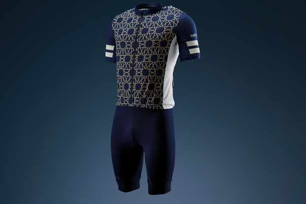 Cafe du Cycliste jersey and bib shorts
