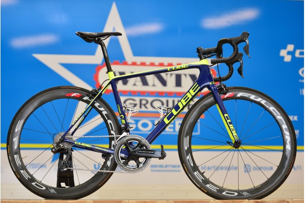 The Litening C:68 is Wanty-Groupe Gobert's main ride...