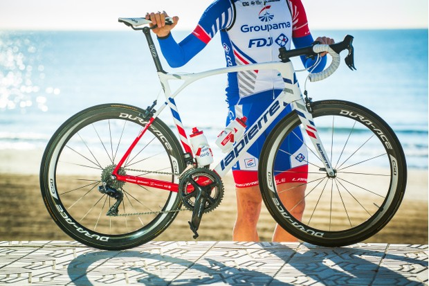 Groupama FDJ's climbers will likely favour the lightweight Xelius SL