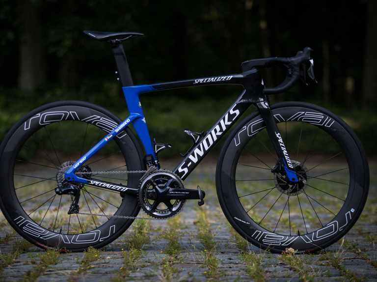 Elia Viviani's Specialized S-Works Venge from the 2019 Tour de France