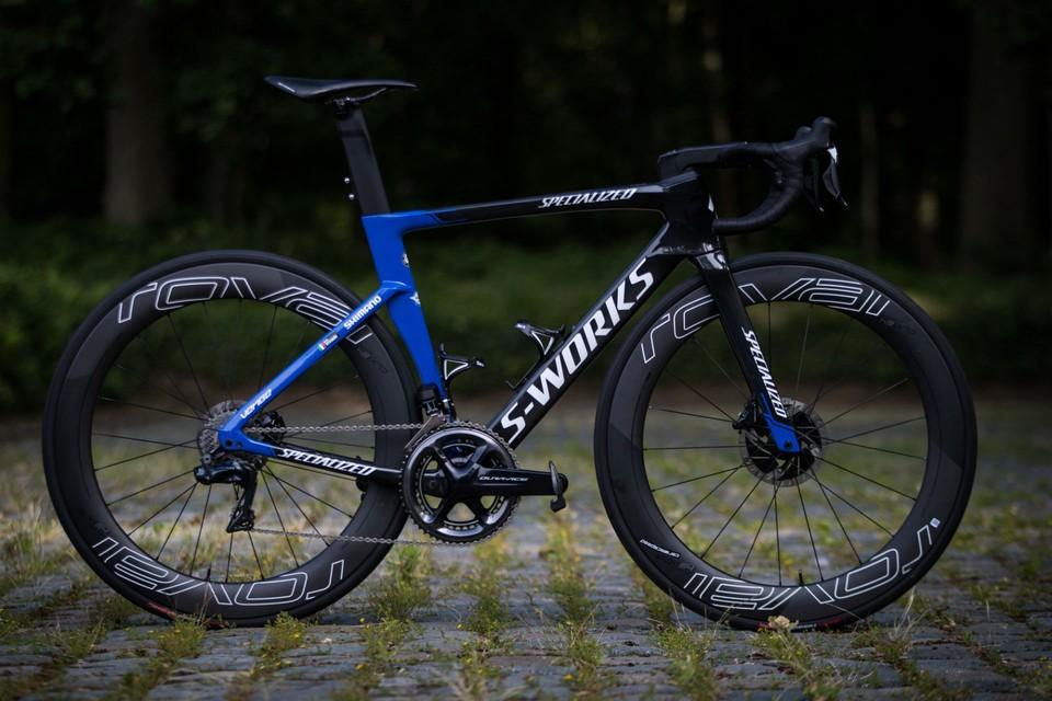 Elia Viviani's Specialized S-Works Venge | Tour de France 2019 ...