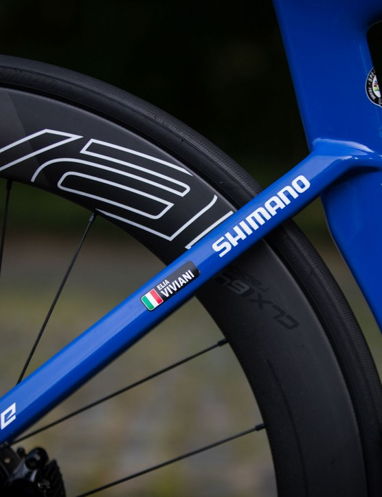 Elia Viviani's Specialized S-Works Venge