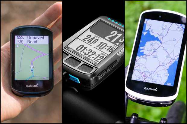 3 GPS bike computers