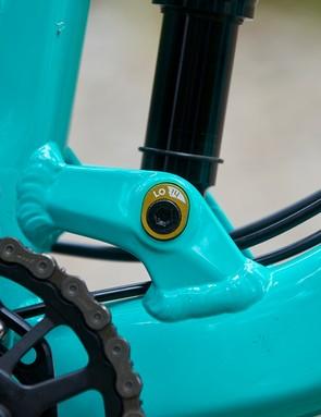 Fox Float Performance DPX2 rear shock on GT mountain bike