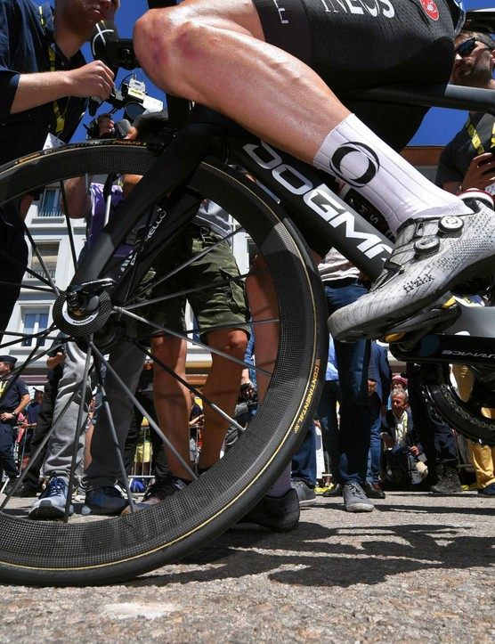 Team Ineos, Lightweight wheels, Tour de France 2019
