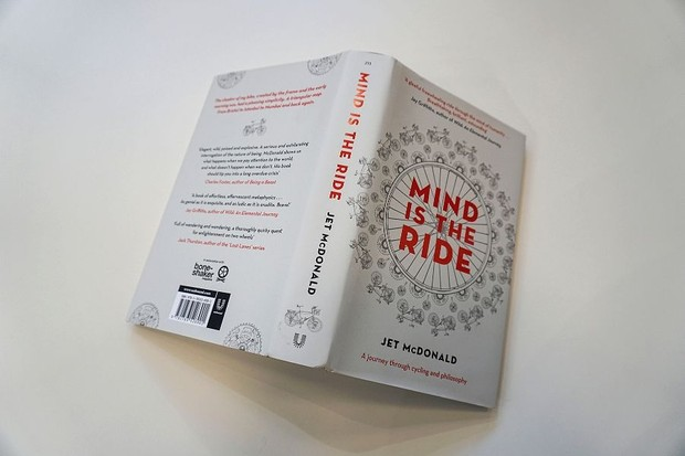 Jet McDonald Mind is the Ride book