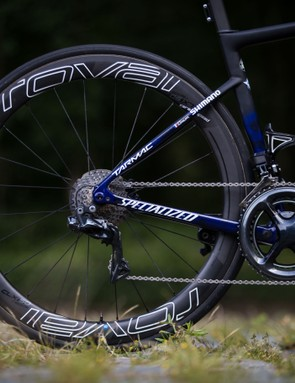 Julian Alaphilippe's Specialized S-Works Tarmac Disc