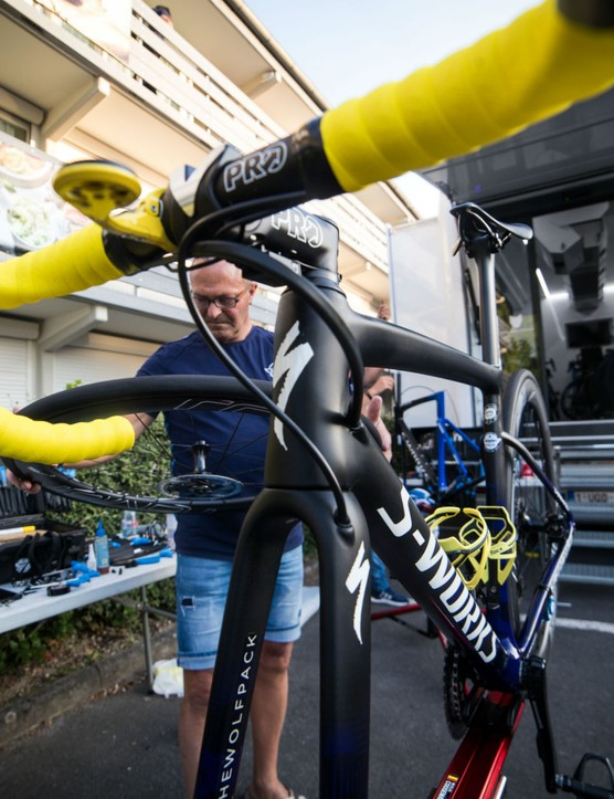 Julian Alaphilippe's Specialized S-Works Tarmac Disc, Tour de France 2019