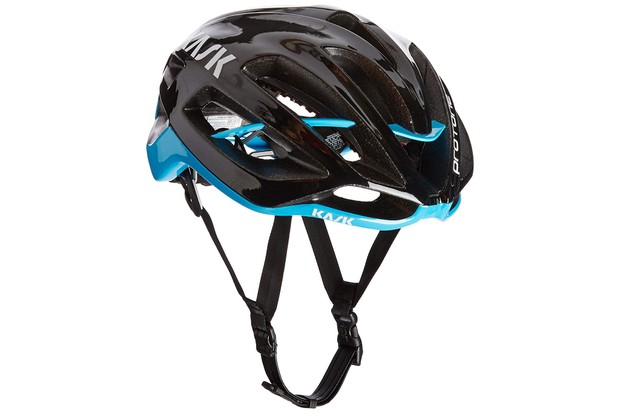 The Kask Protone is a lightweight aero road lid
