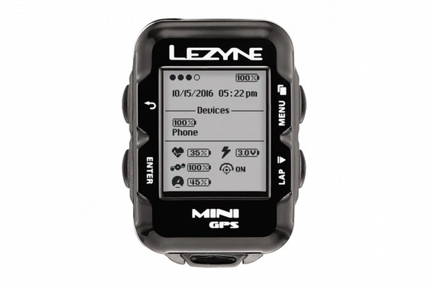 The Lezyne Mini GPS looks a little old-school but offers a lot of functionality for the money