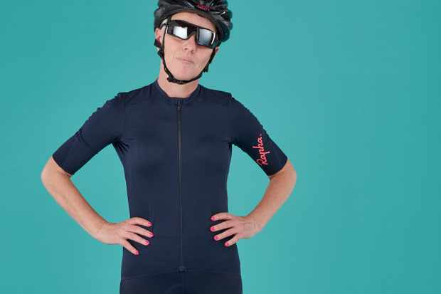 The Rapha Women's Souplesse Aero jersey