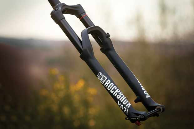 Suspension fork for mountain bike