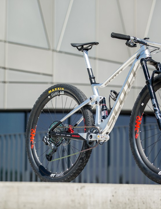 Nino Schurter's Scott Spark RC 900 WC N1NO bike
