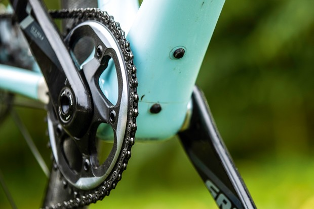 Cranks on Vielo V+1 gravel bike