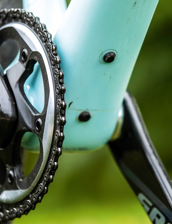 cranks on gravel bike
