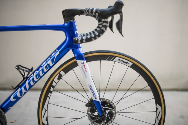 Discs on full-fledged race bikes are no longer a novelty