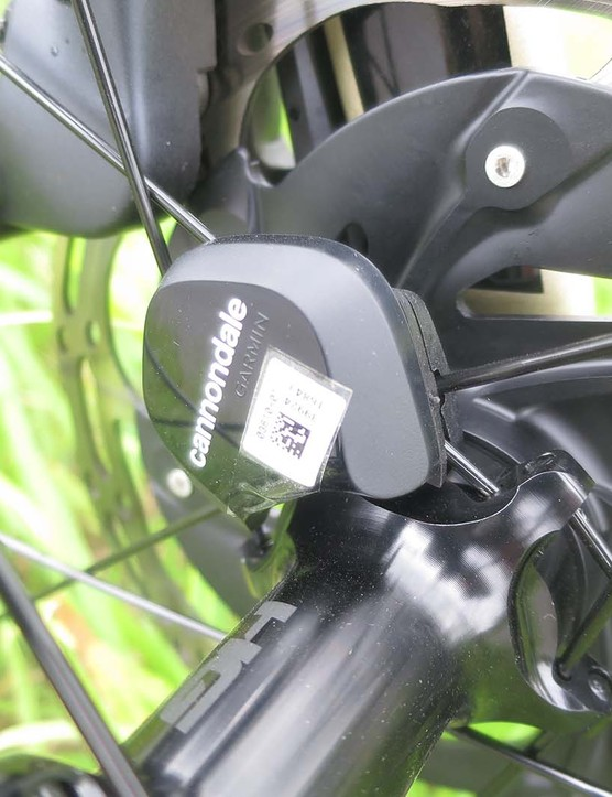 wheel sensor on road bike