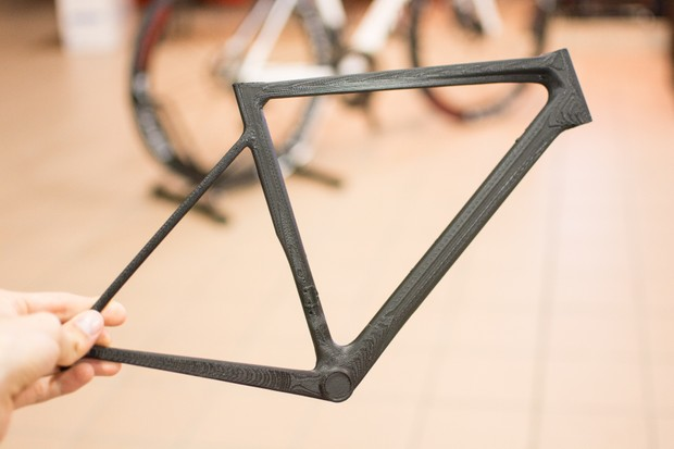 Colnago used these 3D-printed mini frames to settle on the overall shape of the V3RS