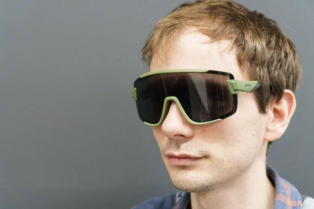 Smith Wildcat sunglasses on Matthew Allen's face