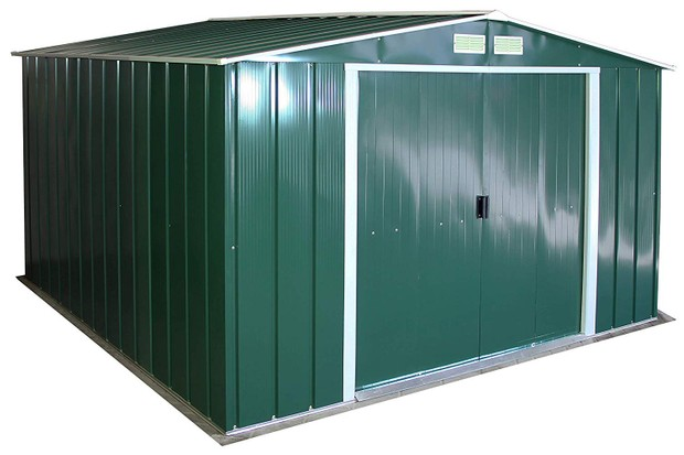 Big green shed from Amazon