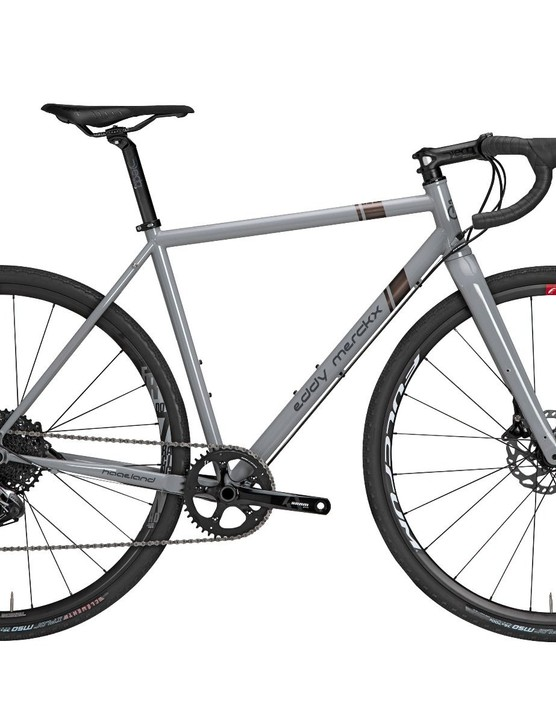 The Hageland gravel bike is €2,499 with Ultegra R8000.