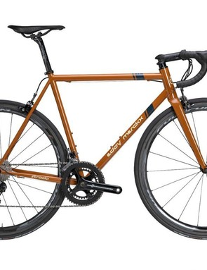 The Corsa Strada is made from 'Merckx Premium Steel' and costs €2,499 with a Campagnolo Potenza groupset.