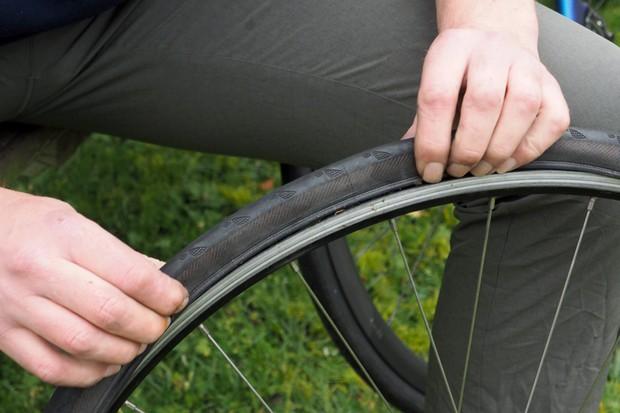 Remount the tyre