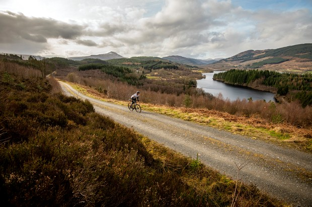 This picturesque route takes you past several lochs