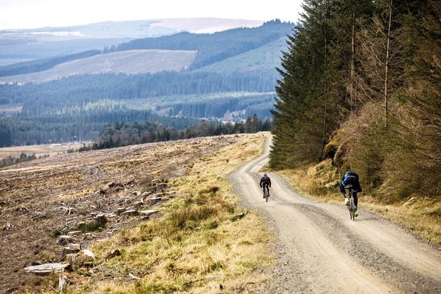 Man v nature: riders take on 200km of Kielder Forest