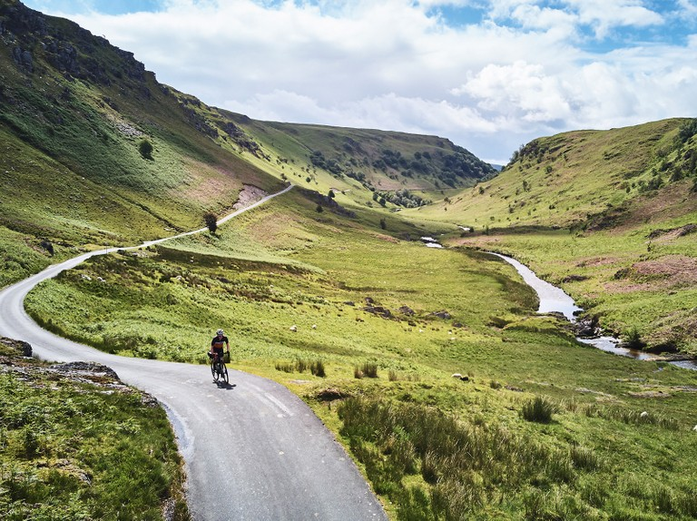 A gravel adventure in the wilderness of mid-Wales