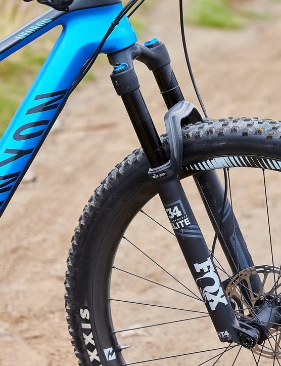 fox fork on canyon full suspension mountain bike