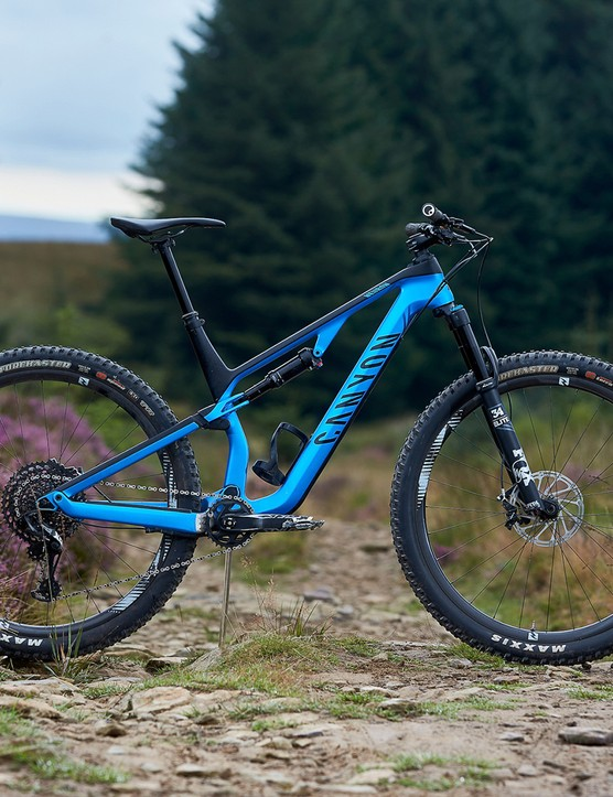 blue canyon full suspension mountain bike