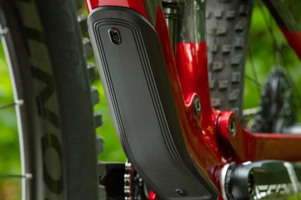 Trek Fuel EX mountain bike down tube protector