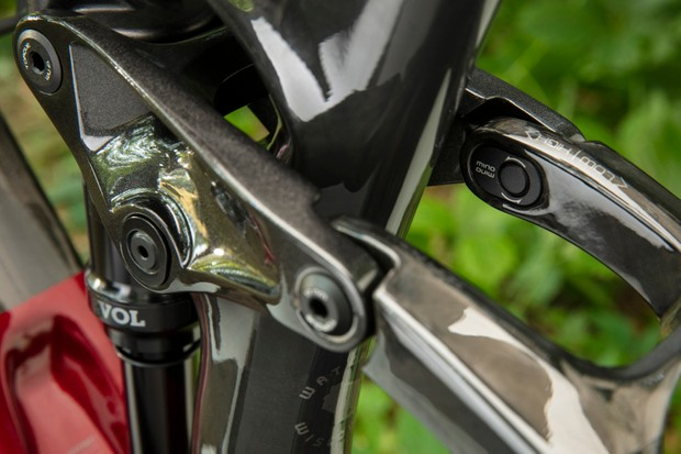 Trek Fuel EX mountain bike Mino Link geometry adjustment