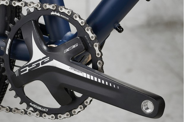 SRAM Apex 1x is joined by an FSA chainset