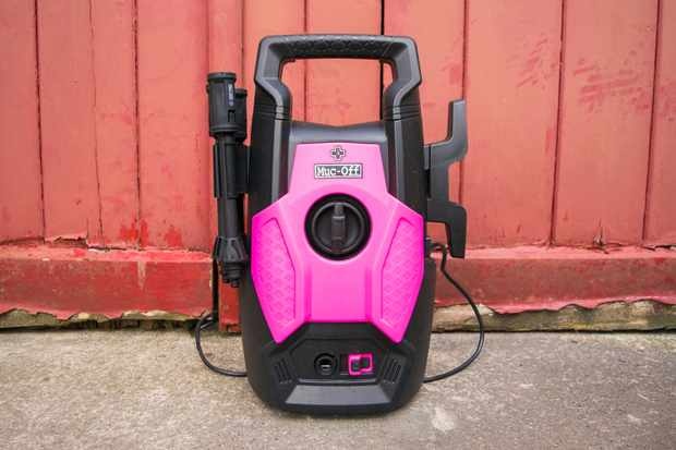 Muc-Off branded bicycle-specific electric pressure washer