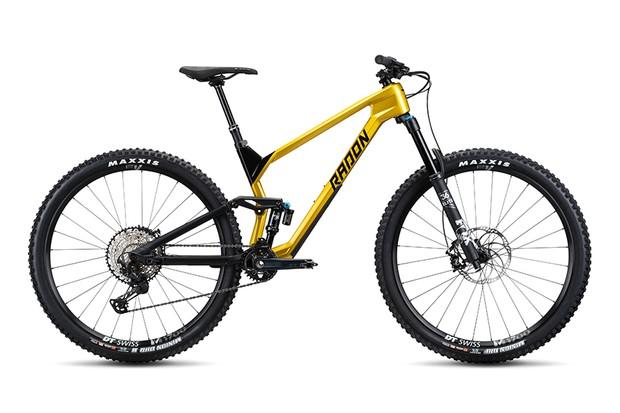 2020 Radon Slide Trail 9.0 full-suspension mountain bike