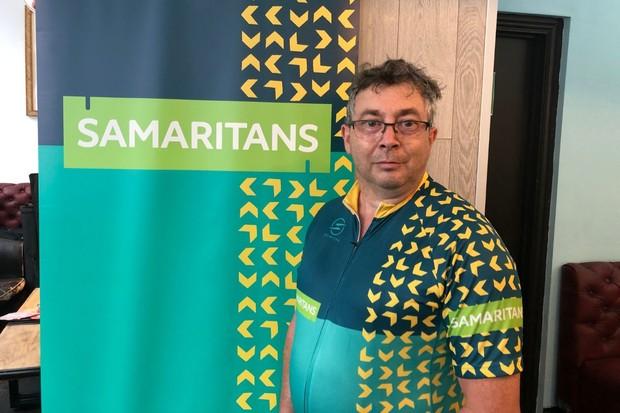 Rob Jenkins Samaritans RideLondon