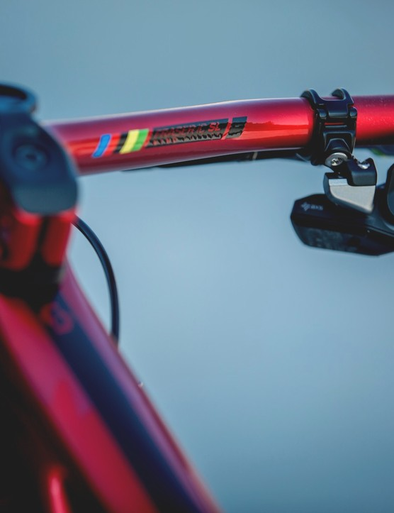 Nino Schurter's custom Scott Spark RC, 2019 World Championships