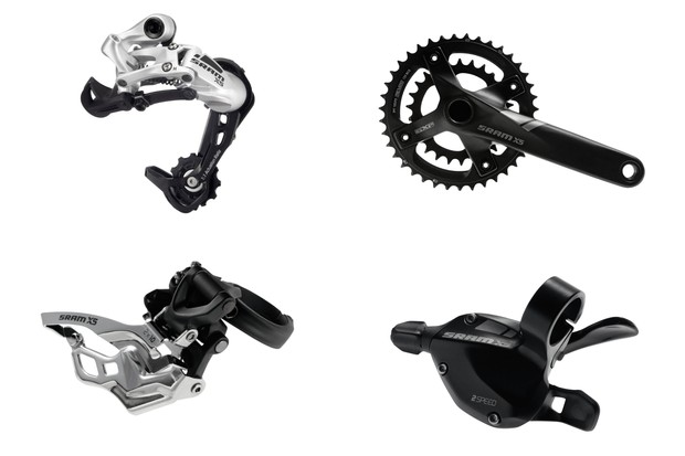 SRAM X5 mountain bike groupset