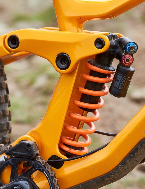 fox rear suspension on mountain bike