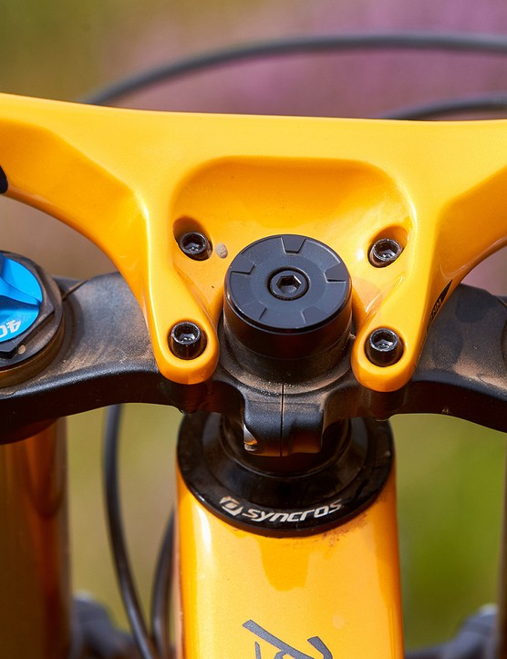 bar and stem combo on full suspension mountain bike