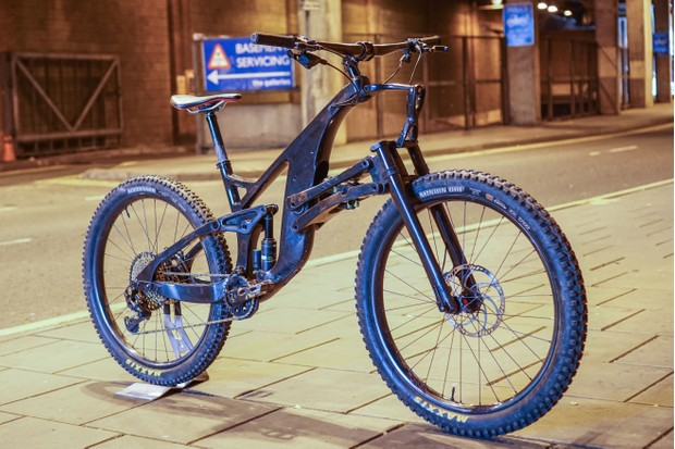 Structure Cycle Works SCW1 enduro mountain bike