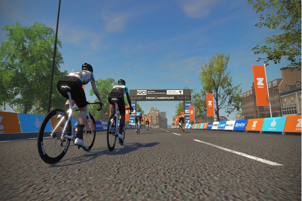 Zwift launches Yorkshire course for UCI Road World